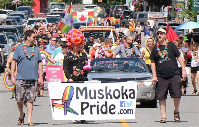 Photo of Muskoka Pride Parade